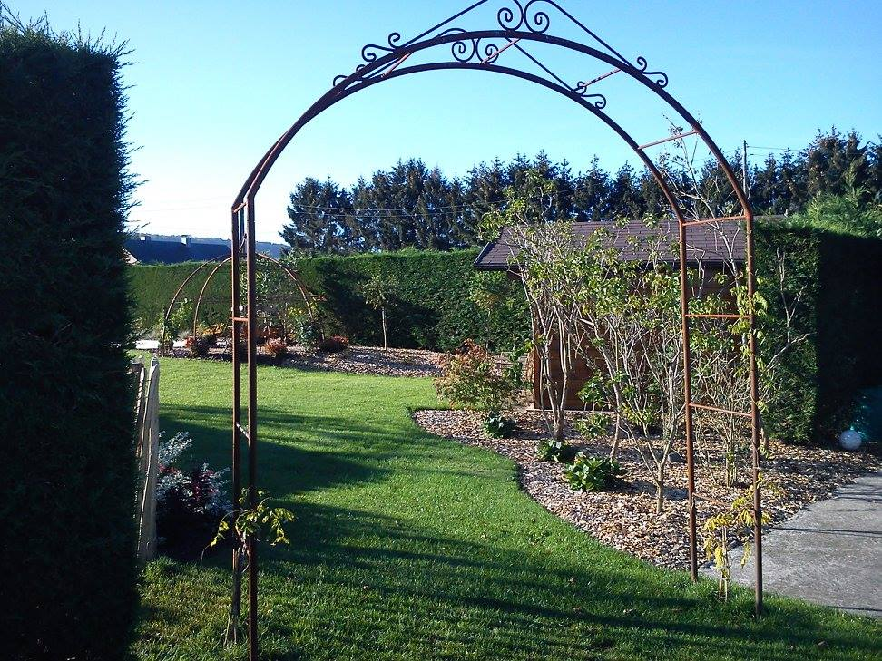 arcade de jardin
